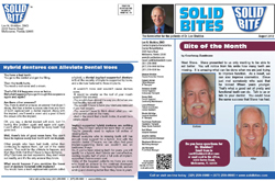 Dr. Lee Sheldon dental practice newsletter