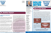 Dr. Lee Sheldon dental office newsletters